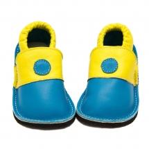 KIWI Blue with yellow Vibram® sole