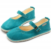IMPALA Turquoise in Vegetable Tanned Leather