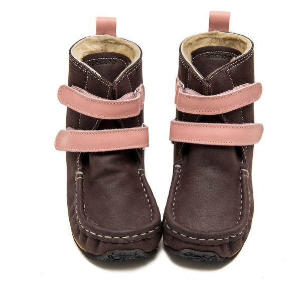 YETI Brown-Pink with Sheepskin